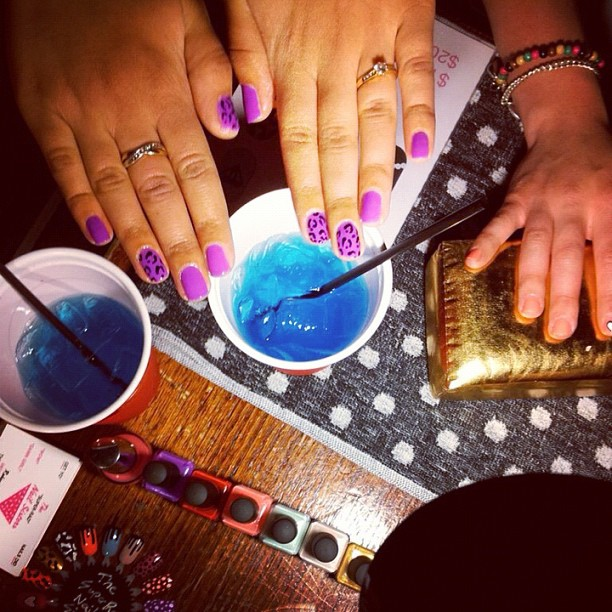 The super rad nail sisters melbourne nail art popup nail art melbourne prinsesfo Images